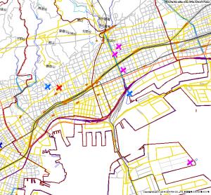 神戸市中央区ー子どもハザードマップ