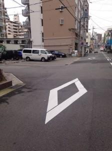 ワコーレ ザ・リーブル神戸の東側道路