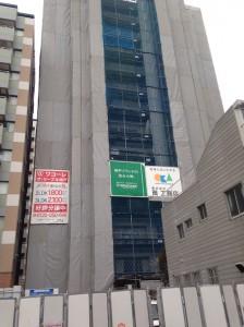ワコーレ ザ・リーブル神戸の南側