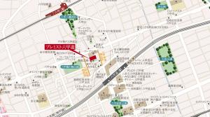 プレミスト六甲道周辺の地図