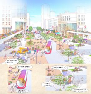 三宮駅周辺の将来ビジョン