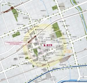 ジ・アーバネックス六甲道_地図