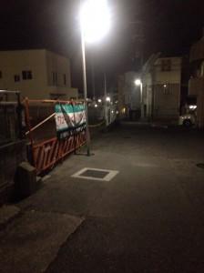 ワコーレ ザ・ハウス王子公園現地_夜