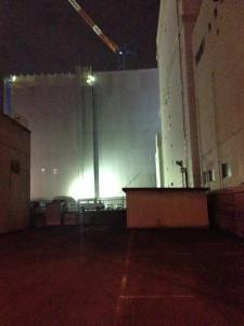 国道2号線からパークホームズ神戸ザレジデンスを撮影
