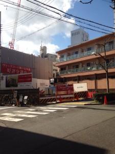 ヴィークコート神戸山本通現地(2016年3月 15時ごろ)