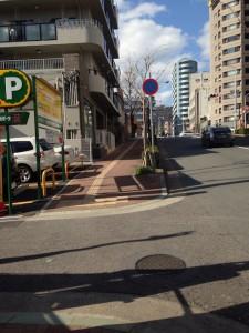 ザ・パークハウス 神戸元町_現地から北向きに撮影
