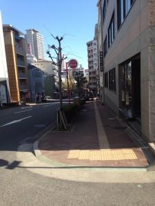 ザ・パークハウス 神戸元町_現地から南向きに撮影