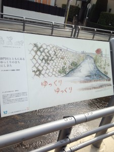 周辺を流れる津門川