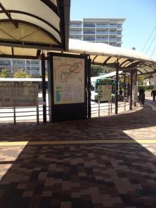 西神中央駅 バス停