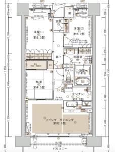 パークホームズ神戸 FLタイプ(引用:公式 HP)