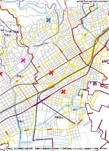 神戸市兵庫区子どもハザードマップ(引用:兵庫県警察)