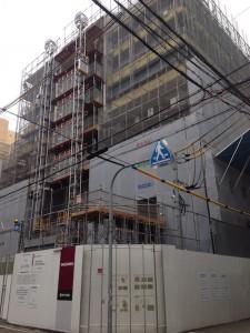 「ブランズタワー御堂筋本町」現地