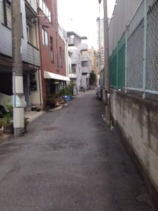 シティタワー梅田東_北側周辺