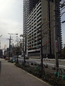 シティタワー梅田東_大通り