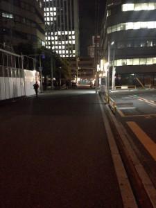 ブランズタワー御堂筋本町の夜の様子