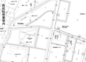 旭町_路線価(引用:国税庁)