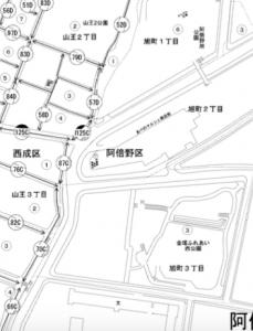 飛田_路線価(引用:国税庁)