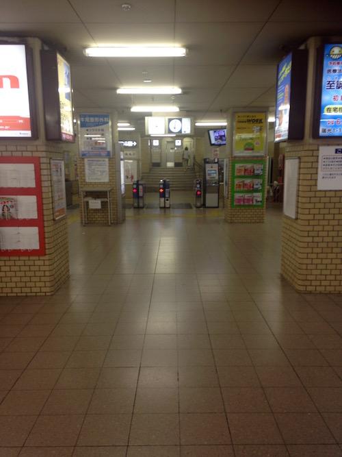 阪急「上新庄」駅