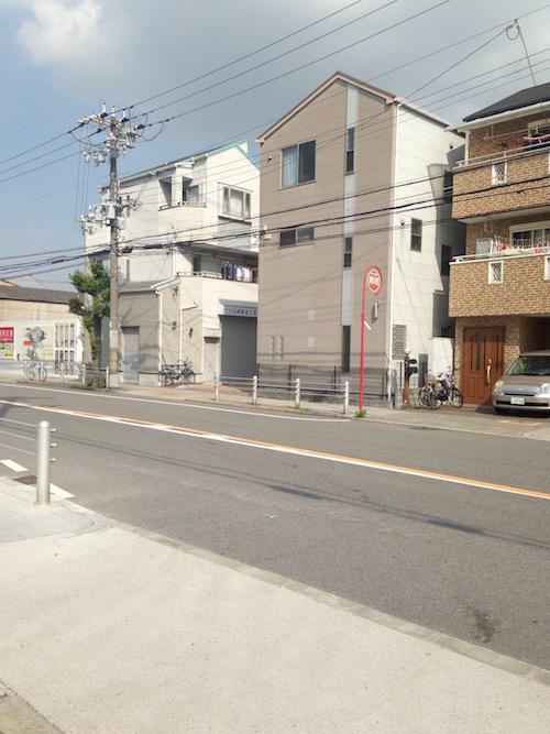 福駅に近い方の隣は戸建て