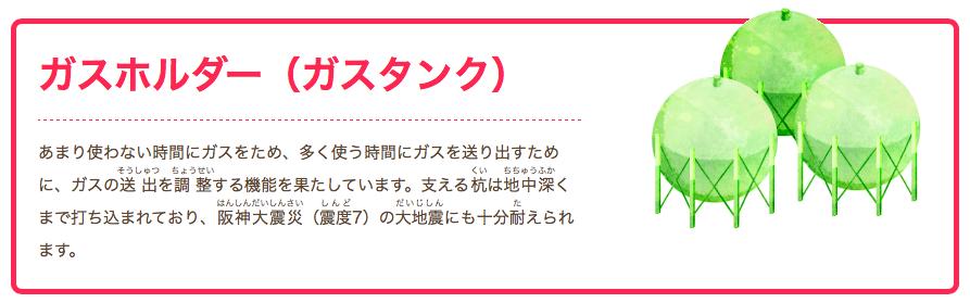 大阪ガスホームページ「知ってるコーナー」