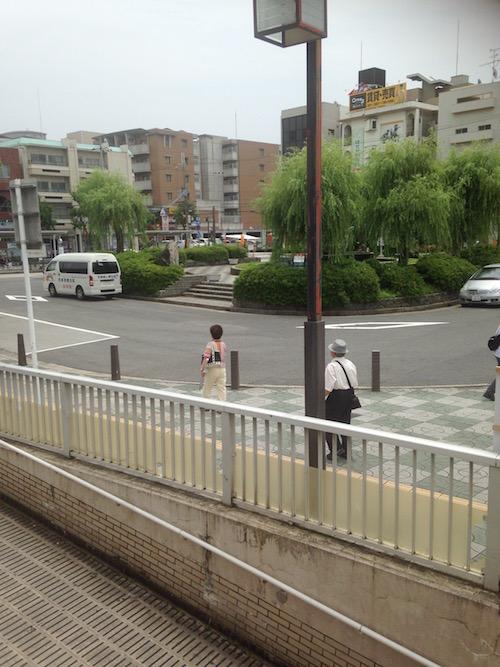 武庫之荘駅前 ロータリー