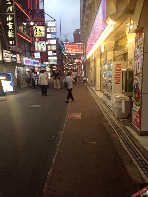 京橋駅 繁華街