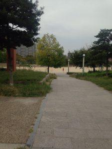 扇町公園 グラウンド