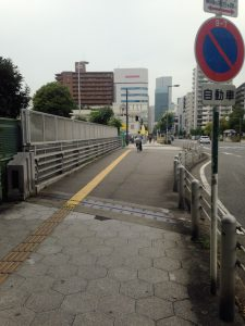 シティタワー東梅田パークフロント方面へ